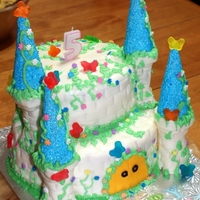 Castle   6 layer cake
