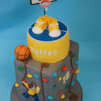 18Th Birthday For A Climbing And Basketball Fan