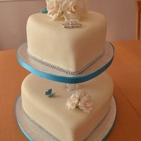 Heart Shaped Wedding Cake