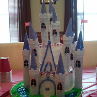 Princess Castle My daughter wanted a pink and purple princess castle.for her 4th bday.