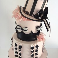 Marias Burlesque Birthday Cake Based On An Original Tlb Design Made With A Cakeage Twist Maria's burlesque birthday cake. Based on an original TLB design, made with a Cakeage twist!