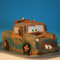 Mater From Cars I was asked to make Mater for a young family member. I didn't have any model to follow, so I looked at other Mater cakes for...