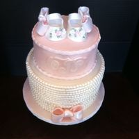 Vintage Theme Baby Shower Cake The Shoes Are Gumpaste Tfl Vintage theme baby shower cake. The shoes are gumpaste. TFL