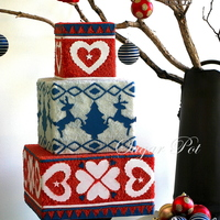 A Daggy Christmas Jumper Inspired Cakea Few Months Ago I Was Contacted By Cake Magazine Asking Me If I Would Like To Contribute To The A daggy Christmas jumper inspired cake…. A few months ago, I was contacted by Cake Magazine, asking me if I would like to...