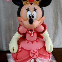 "Queen Minnie, Her Highness! ""Minnie"" was on the docket, and I just couldn't resist trying my hand at this version, Queen Minnie! So, I..."