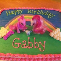 My Little Pony Birthday Cake Loved making this bright colored cake for the sweetest 4 year old.