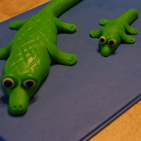 Alligators I made these with left over fondant.