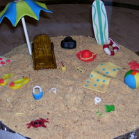 Beach Bum Beach accessories I made with some left over fondant. Just trying out my skills. Been wanting to practice on the beach theme. Let me know...