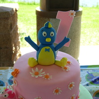 Backyardigans 1St Birthday Cake This is the first time doing figures for a cake. I think Pablo and Tasha came out good. But had a problem with Uniqua falling apart. Plus I...
