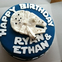 Star Wars Birthday Cake My first experience sculpting with modeling chocolate.