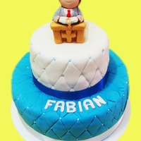 First Communion Boy Cake