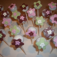 Cake Pops For Tea Party