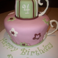 Tea Party Cake & Cake Pops