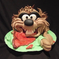 Taz this pic is a taz cake, eating a t-bone steak by angelpie cakes , visit me on facebook x