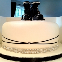 Birthday Cake With Shoes