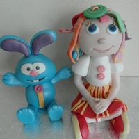 Rosie And Raggels rosie and raggels icing figures , by angelpie cakes. take a peek at my other cakes on facebook x