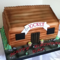 Log Cabin   log cabin cake by angelpie cakes , visit me on facebook x