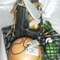 Call Of Duty Cake   call of duty