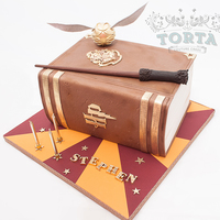Harry Potter Birthday Cake This cake was made for a big harry potter fan who is celebrating his birthday this week. Once again, I've covered the cake board with...