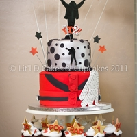 Michael Jackson Themed Birthday Cake
