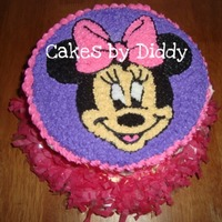 Minnie Mouse Face 7X3 ROUND CAKE PAN