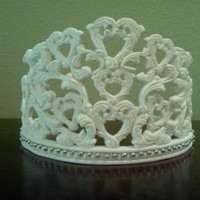Gumpaste Tiara Before