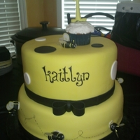 Bumble Bee 1St Birthday Cake