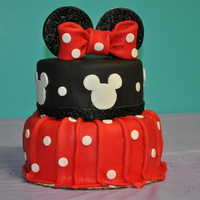 Minnie Mouse I made this for my daughters 5th birthday. Definitely one of my favorites Ive made.