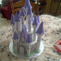 Castle Cake   I actually made 2 of these cake for the same day! they had two parties to attend one in oshawa and one in brampton