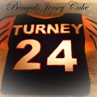Bengals Jersey Bengals Football Jersey for 24th BIrthday. This is my first time doing a jersey or any carved clothes. chocolate for most of the shirt and...