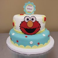 Elmo Birthday Cake This was my first Icing Smiles cake. What a joy to create for someone special!