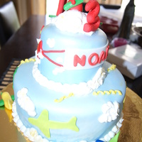 Noah's Airplanes This is a very special cake, it was for my friends Godson who has been battling leukemia for almost 2 yrs and he just turned 3 - Please...