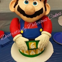Its Me Mario My Boys 6Th Birthday Cake   It's me Mario My boys 6th birthday cake :)