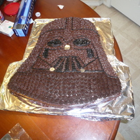 Darth Vader Cake Son's 5th birthday.