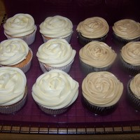 Funfetti Cupcakes And Chocolate Cupcakes. Some Cupcakes I mad back in May but just now posting all my cupcake pics. Chocolate Cupcakes (Recipe from Georgetown Cupcake's...