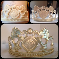 Egyptian Queen Tiara I Did Using My Wilton Molds And Home Made Snake Mold I Made Love The Turn Out Egyptian Queen Tiara I did using my wilton molds and home made snake mold I made love the turn out