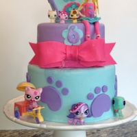 Littlest Pet Shop Cake   Littlest pet shop cake