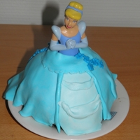 First Ever Princess Cake