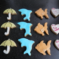 Happy Summer Vacation Cookies I made these with my daughters help for her teachers at kindergarden
