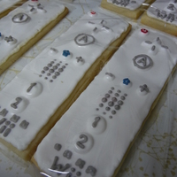 Wii Remote Cookies