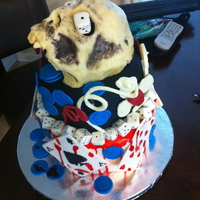 Halloween Horror Nights Cake