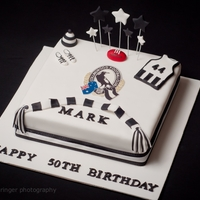 Afl Collingwood Pies Cake