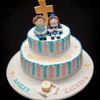 His And Hers Confirmation Cake