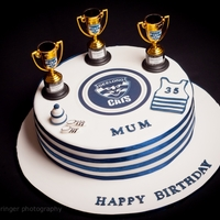 Afl Geelong Cake Australian Football League - Geelong Cats