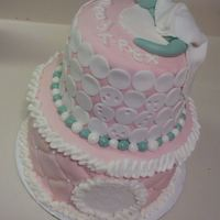 First Tiered Cake, First Cake With A 'figurine' First tiered cake, first cake with a 'figurine'