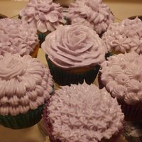 Just Practicing I had left over icing from the margarita cupcakes so I decided to practice some :) and I kind of created some new ideas!