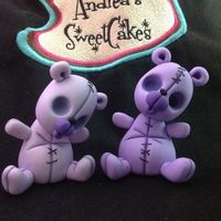 Tim Burton Inspired Gum Paste Teddy Bear I have posted a tutorial on how to make Stitches my Tim Burton inspired teddy bear. You can find it under the tutorials tab on the home...