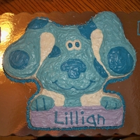 Blue's Clues This is a Blues Clues cake I made for my daughters birthday