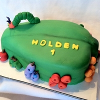 Hungry Caterpillar Made for baby's 1st birthday.
