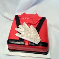 Michael Jackson Cake made for a 5yr old's bday party! She's OBSESSED with Michael Jackson!